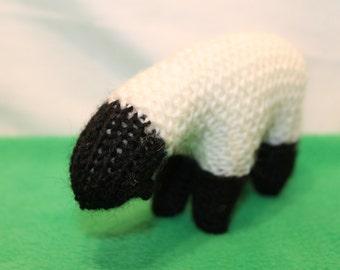 Sheep (heirloom) - hand knitted pure wool