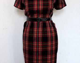 60s PLAID DRESS | Hourglass