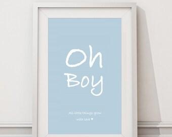 Print Oh boy
