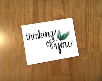 Customizable Thinking of You Cards