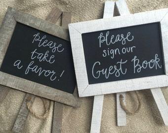 Custom Chalkboard Sign - Wedding / Home Decor