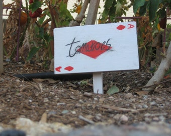 Playing Card Garden Markers