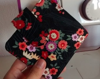 Fabric coin purse wallet