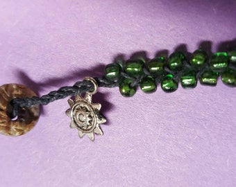 Green Sunshine Bracelet