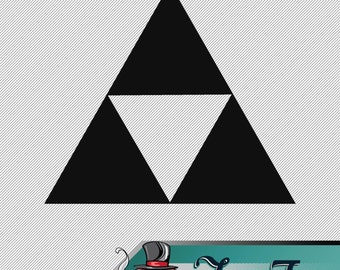 Vinyl Decal- Zelda Tri Force