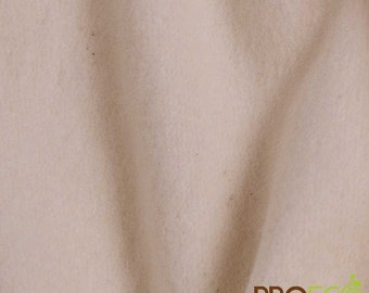 Pre-Activated ProECO® Heavy Bamboo Fleece Fabric (Natural, sold by the yard)
