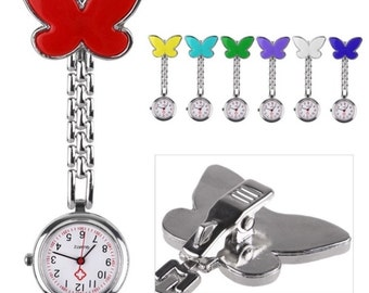 Nurse butterfly watches