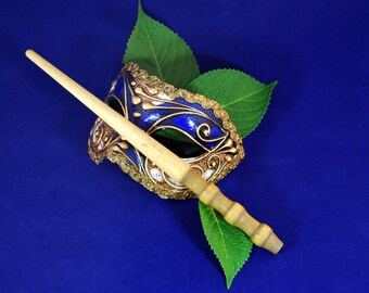 "11 5/8"" Wooden Magic Wand, Poplar Wood, Wizard Wand"