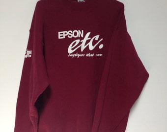 epson sweatshirt XXL