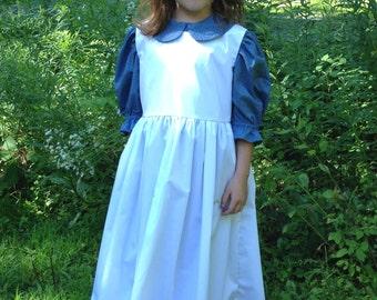 Custom Girl's Laura Dress Set