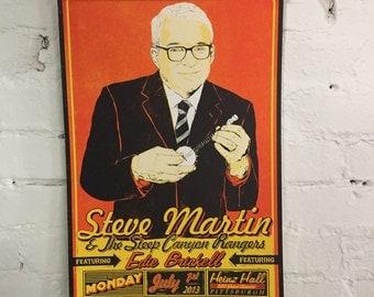 Steve Martin Screenprinted Poster