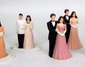 VINTAGE plastic wedding cake TOPPERS your choice