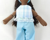 African American Doll - Dress Up Doll - Kids Toy