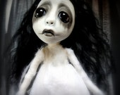Loopy Southern Gothic Art Doll Victorian Dark Ghost Bella Rose