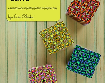 The Jubilee Cane Polymer Clay Millefiori Tutorial