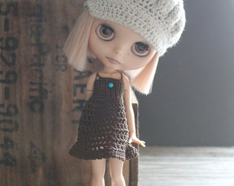 Blythe Strappy Crochet Dress in Your Choice of Color - Made to Order