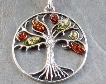Tree of Life with Baltic Amber