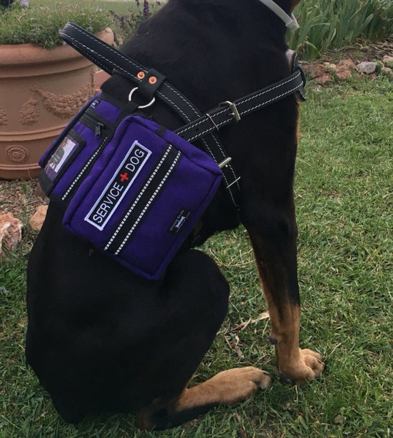 CozyHorse Service Dog Harness Vest Backpack style vest made
