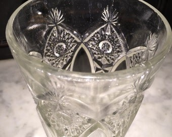 Antique Water Pattern Glass
