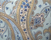 Blue Paisley Benartex fabric Tuilleries by Marianne Elizabeth Classically home collection Sewing Supplies 100 percent cotton No 1126