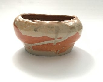 Wheel Thrown Porcelain Bowl, Organic Form Studio Pottery by Bryan Northup