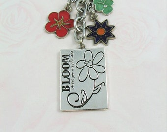 Bloom Flower Keychain