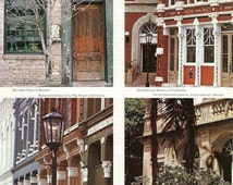 Vintage Magazine Page - Houston's Restored Architecture for a Journal, Altered Art, Collage, Scrapbooking, Paper Arts and MORE