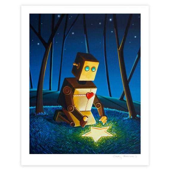 Robot Series Limited Edition - Another Wish Is Found - Signed 8x10 Semi Gloss Print (8/10)