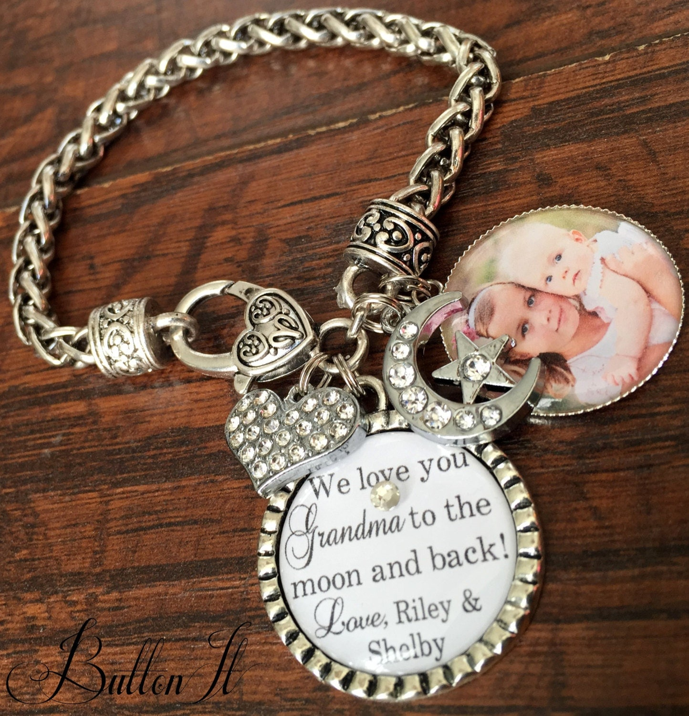 MOM gifts GRANDMA jewelry Grandma bracelet Mother's day