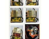 Victorian Harvest Miniature Book Project in jpg, PDF 1:12 scale Printable, Digital Dollhouse Instant Download Autumn Halloween MB002