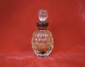 Vintage Miniature Perfume Bottle Jean Patou 1930s, 2-1/4 inch mini Perfume with Stopper
