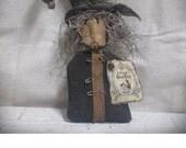 Primitive Witch --Shelf Sitter