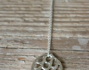 Silver Necklace - Latti Necklace - Sterling Silver