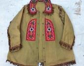 RARE antique c. 1900 Louis E. Stilz & Bros. fraternal Plains Indians inspired jacket