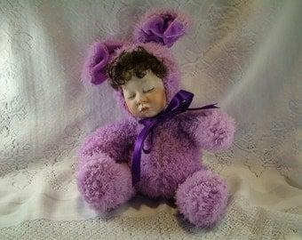 Purple Bunny Baby