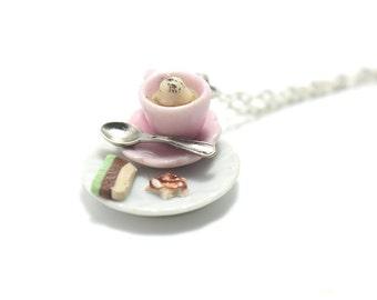 Miniature Food Jewelry, Polymer Clay Food Jewelry
