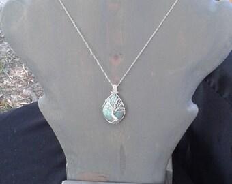 Wood Jewelry Display, Layered jewelry holder, wood necklace display, layering necklace pendant Display