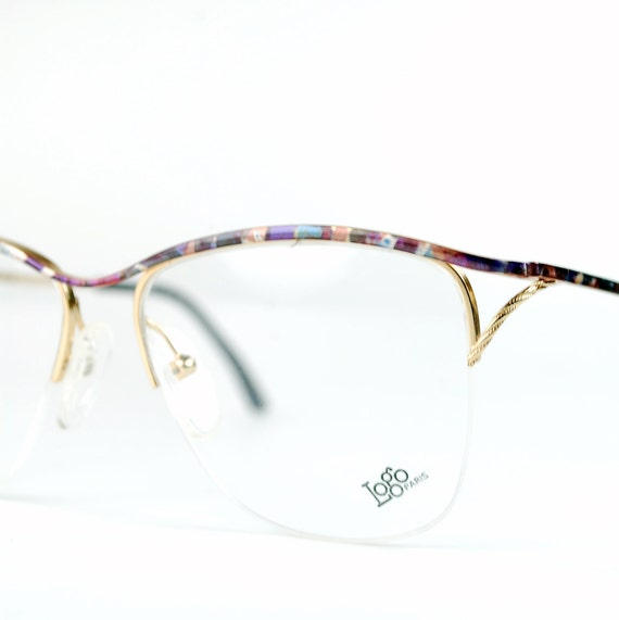 Rimless Wire Glasses : Semi-rimless Golden Metal Wire Eyeglasses Frames by thenovelty