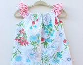 Tiptoe Through the Tulips Baby Girls' Flutter-Sleeve Dress and Bloomer Set