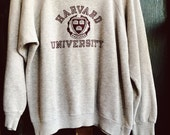 Vintage Harvard sweatshirt