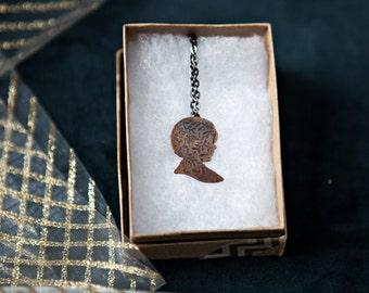 Arya Stark Necklace, Game of Thrones Jewelry, House Stark Necklace, Geek Jewelry, Game of Thrones Necklace