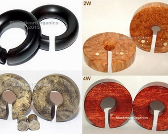 "Custom Wood Weights & Hanging Examples, Organic Jewelry, Wooden Plugs / (For lobes 1/2"" (13mm) +), Hand Crafted EXAMPLES of CUSTOM JEWELRY"