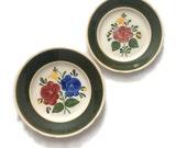 2 Plates Villeroy and Boch Bauernblume Pattern