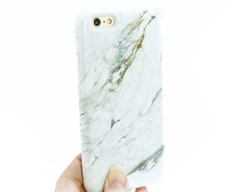 iPhone 6S Plus Case Marble iPhone 7 Case White Marble iPhone SE Gift