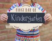 First Day Of Chalkboard School Sign SALE SALE SALE