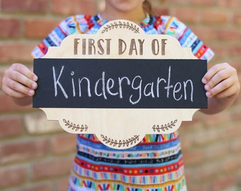 First Day Of Chalkboard School Sign SALE SALE SALE