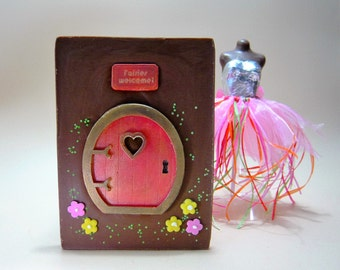 Chocolate Fairy Door - can be personalised