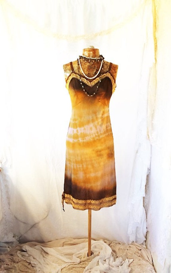 Tie Dye Sundress/Ombre Dress/Funky Eugene/Tie Dye Dress/Green Earth Dress/Earth Day Sundress/Tie Dye Sundress/Music Festival Clothing