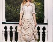 Sample Sale - Victorian Wedding Dress - Skirts and Bolero