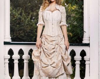 Custom Victorian Wedding Dress